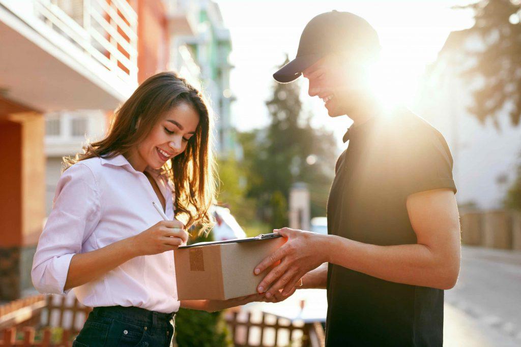 consegna pacco domicilio