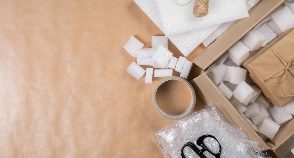 Preparazione scatola