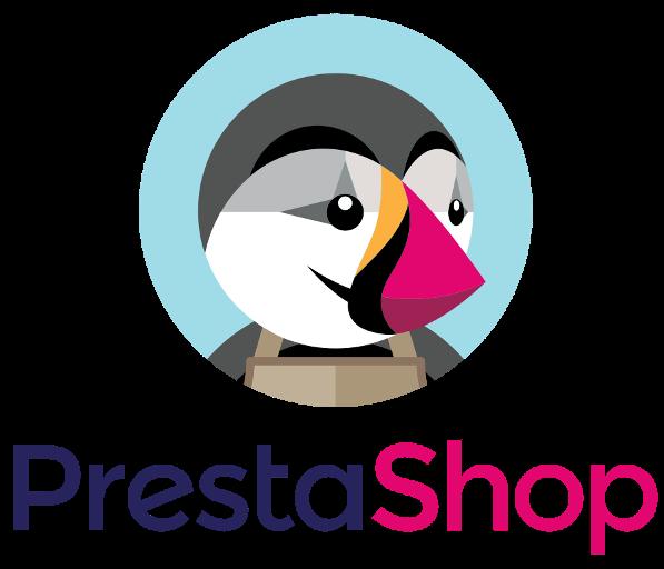 Prestashop logo integrazione ecommerce